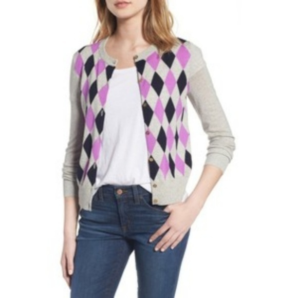 J. Crew Lightweight Wool Jackie Cardigan Sweater 9e40de38b